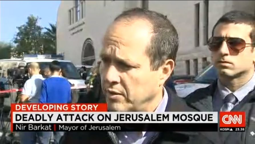 Filthy CNN claims 'Deadly Attack on Jerusalem Mosque' VIDEO