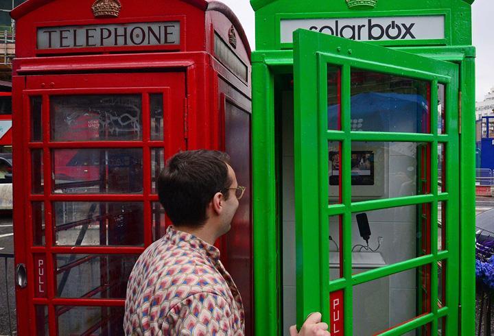 Yeşil telefon kulübeleri