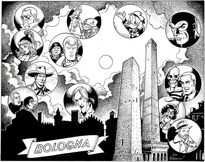 Thumbnail for #BolognaComics