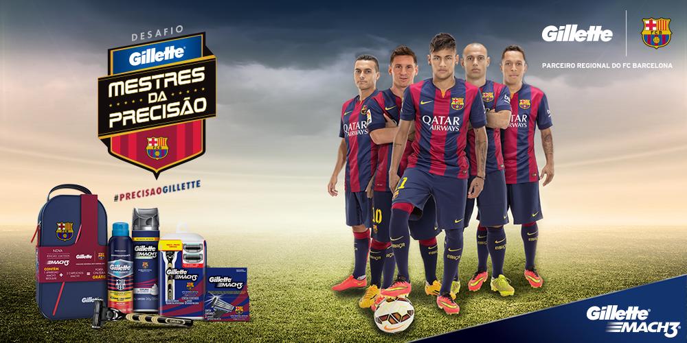 Компания Gillette заключила соглашения с футбольным клубом Барселона