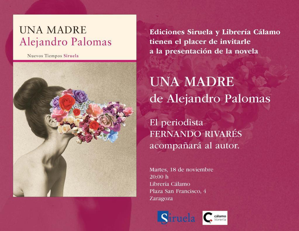 Esta tarde solo #zaragoza. con @Palomas_Alejand  via @edicionesiruela http://t.co/8yqrFYPrBy