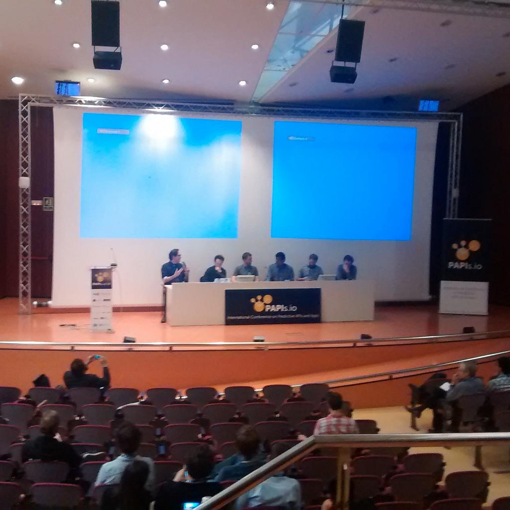 Panel discussion to wrap-up the first conference on predictive apps. #papis2014 @papisdotio http://t.co/BwHXw66j62