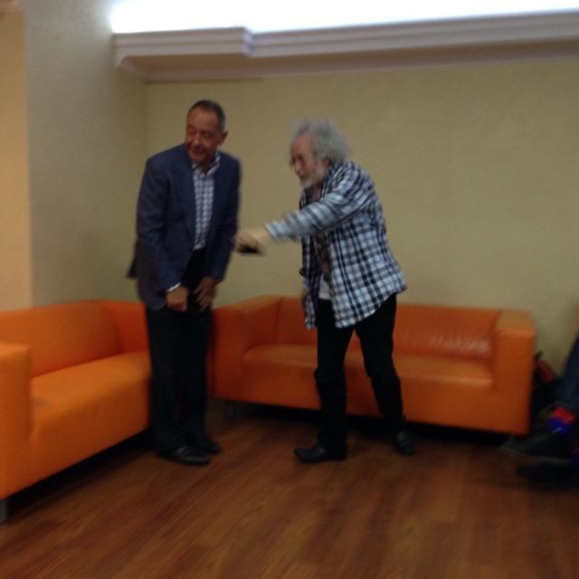 В Москве проходит встреча Михаила Лесина с коллективом Эха