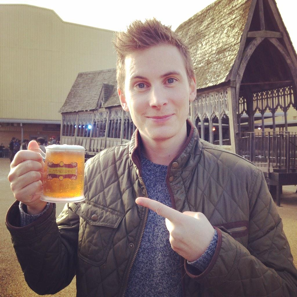 I actually quite liked it! #butterbeer @wbstudiotour http://t.co/4aN7Oy6iTt