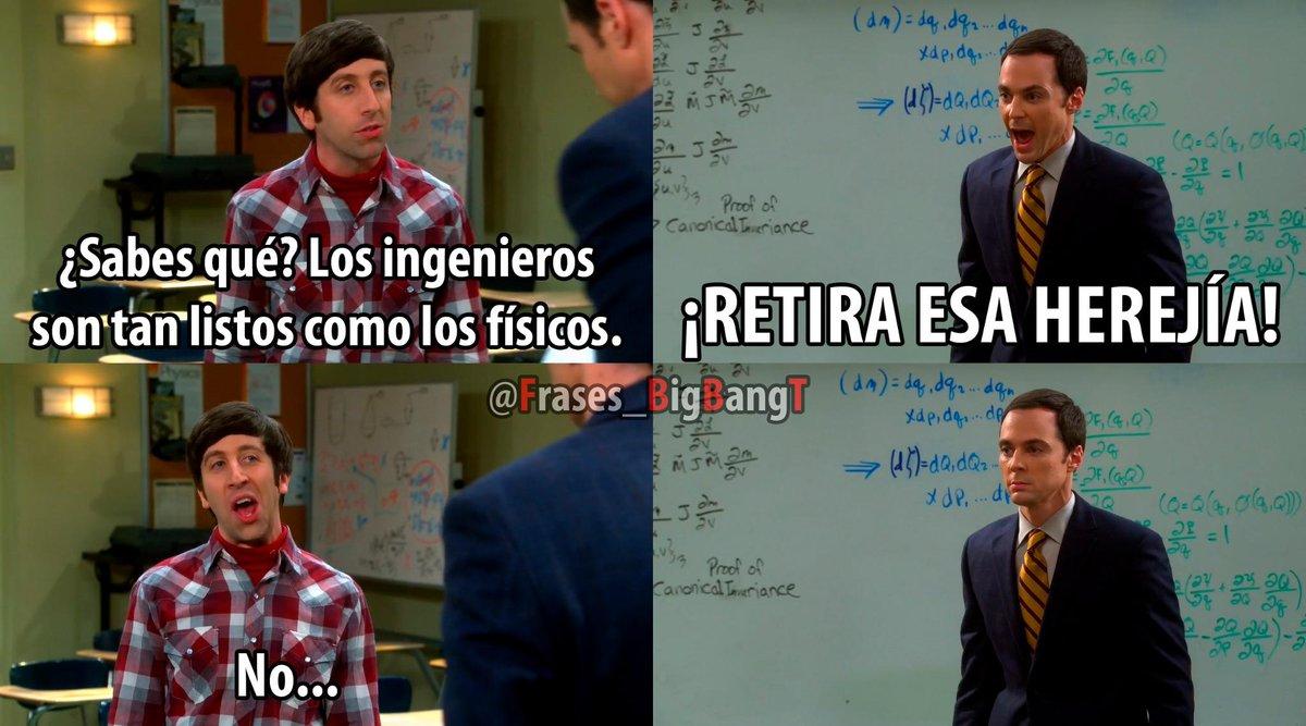 The Big Bang Theory On Twitter Retira Esa Herejía Httptco