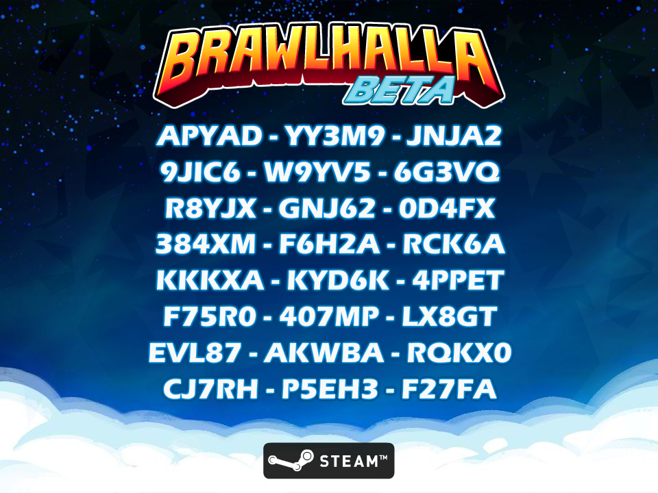 """Brawlhalla on Twitter: """"Code giveaway! 
