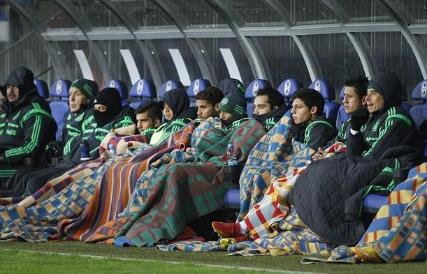 Mexican subs not enjoying the Belarussian winter so much RT @fantedipicche: http://t.co/eqg6OKHhFL