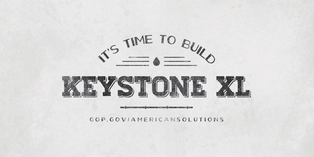 The verdict is in, a majority of Americans - over 60% - want to see #KeystoneXL built. Tell POTUS it is #TimeToBuild. http://t.co/0IjPHnEUsz