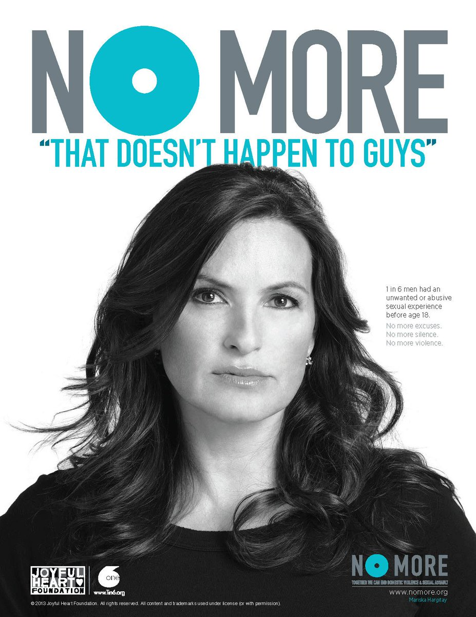 Men around the world are healing from #SexualAbuse. @TheJHF @NOMOREorg are raising awareness #InternationalMensDay http://t.co/m7fYpnnE1F