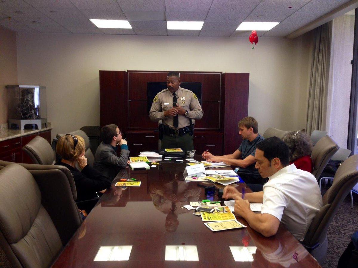 Deputy Gregory Chatman presents on SHARE Tolerance