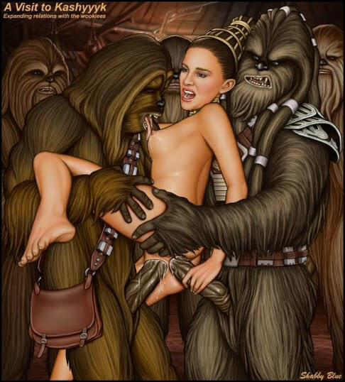 Opinion Star wars princess leia and chewbacca porn remarkable, this