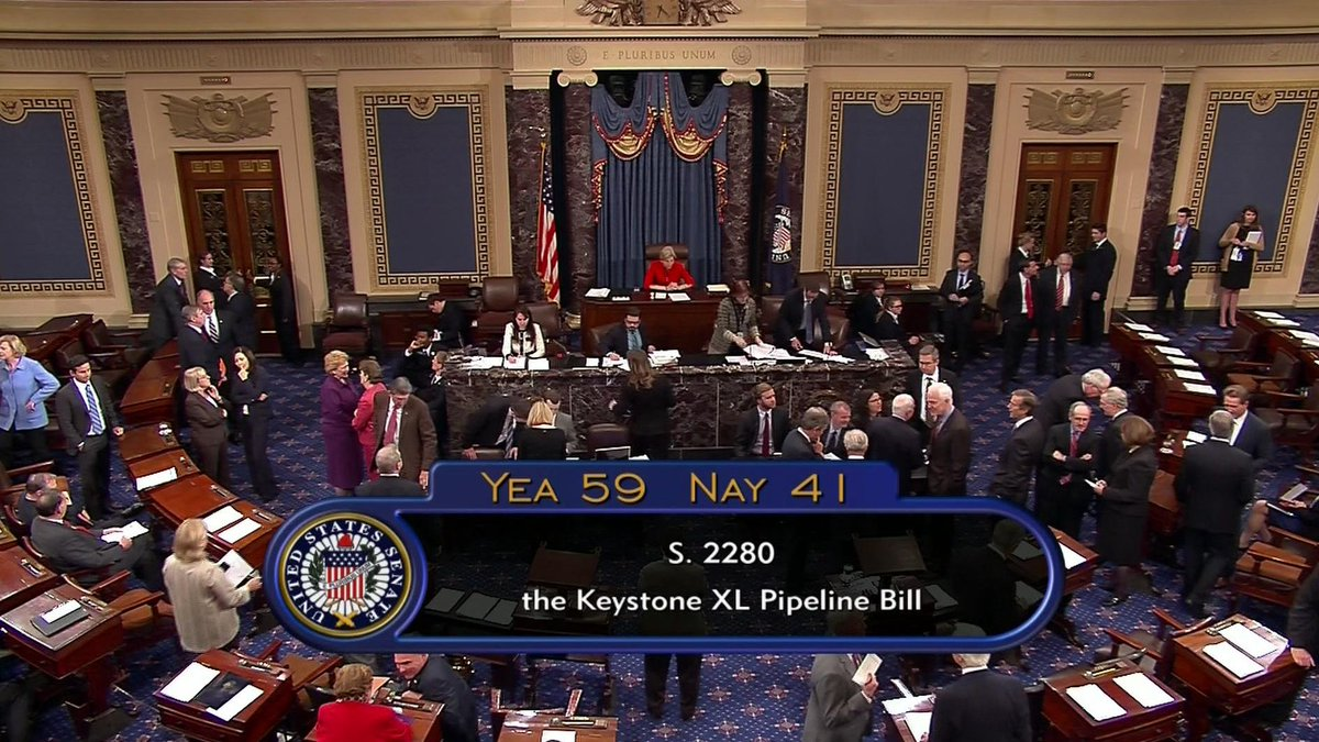 Extremist Senate Democrat obstruct Keystone XL pipeline