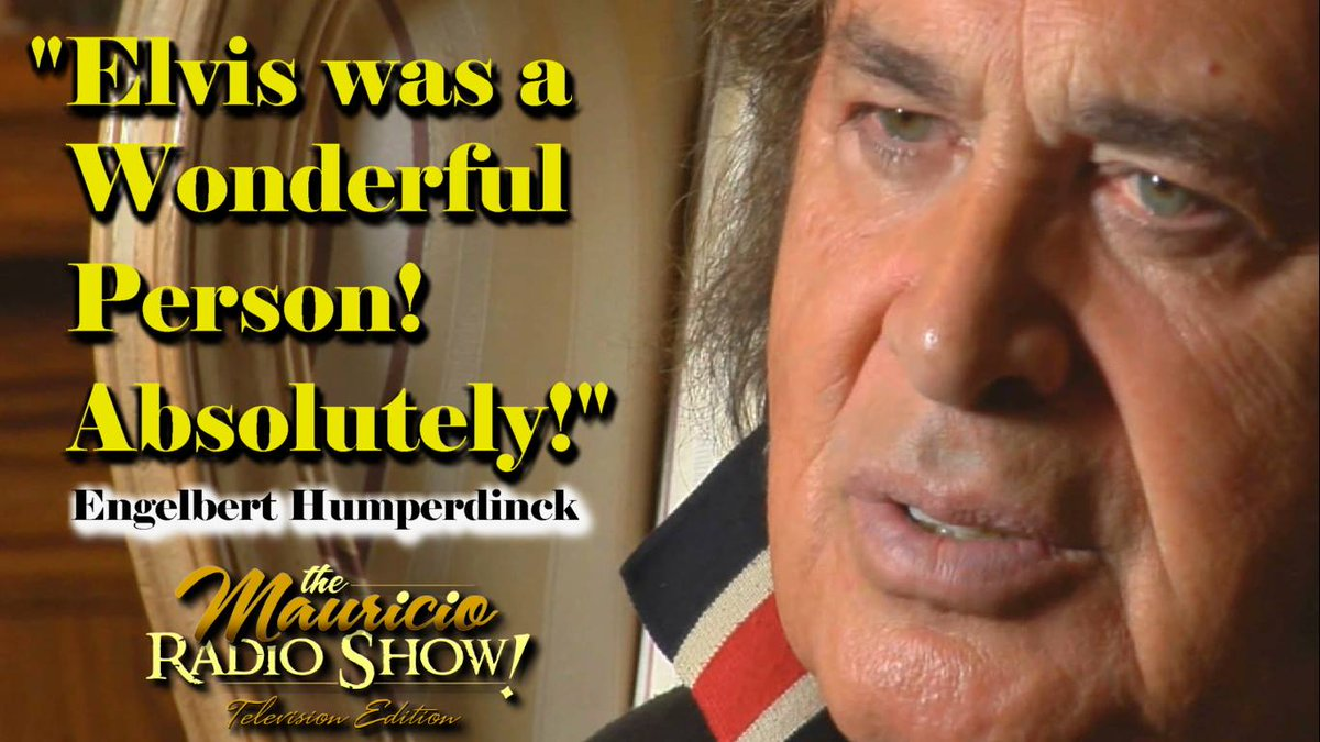 @ehumperdinck The KING OF ROMANCE talks about The KING OF ROCK N' ROLL watch @LisaPresley https://t.co/O5u0k7I0Bl http://t.co/Y8zfBuuRIv