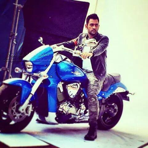 Image result for ms dhoni bikes twitter