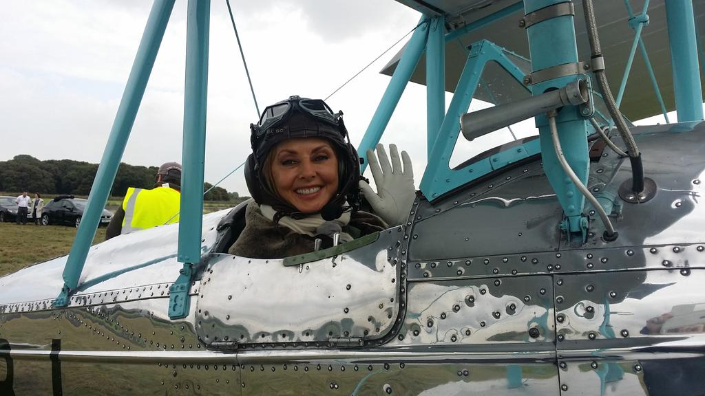 Soooo excited... First flight in a biplane x http://t.co/PpO9kn0g6S