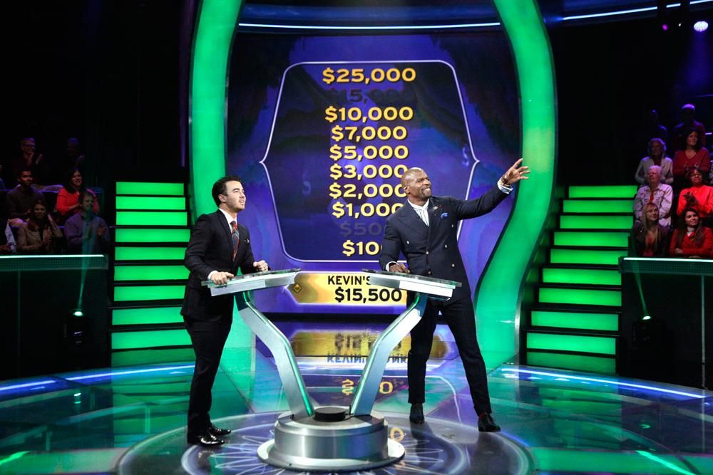 Today, will @KevinJonas #JonasBrothers break the bank for charity? #MillionaireTV @terrycrews: http://t.co/ap7IgChLcs http://t.co/WcCSs7P7VD