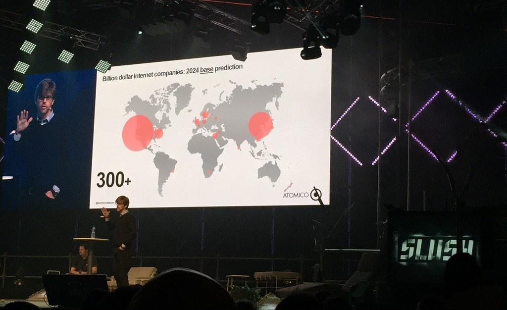 Atomico predicting Stockholm will be the largest tech hub in Europe by 2024. #sthlmtech @StockholmTech #SLUSH14 http://t.co/mhCae55QUT