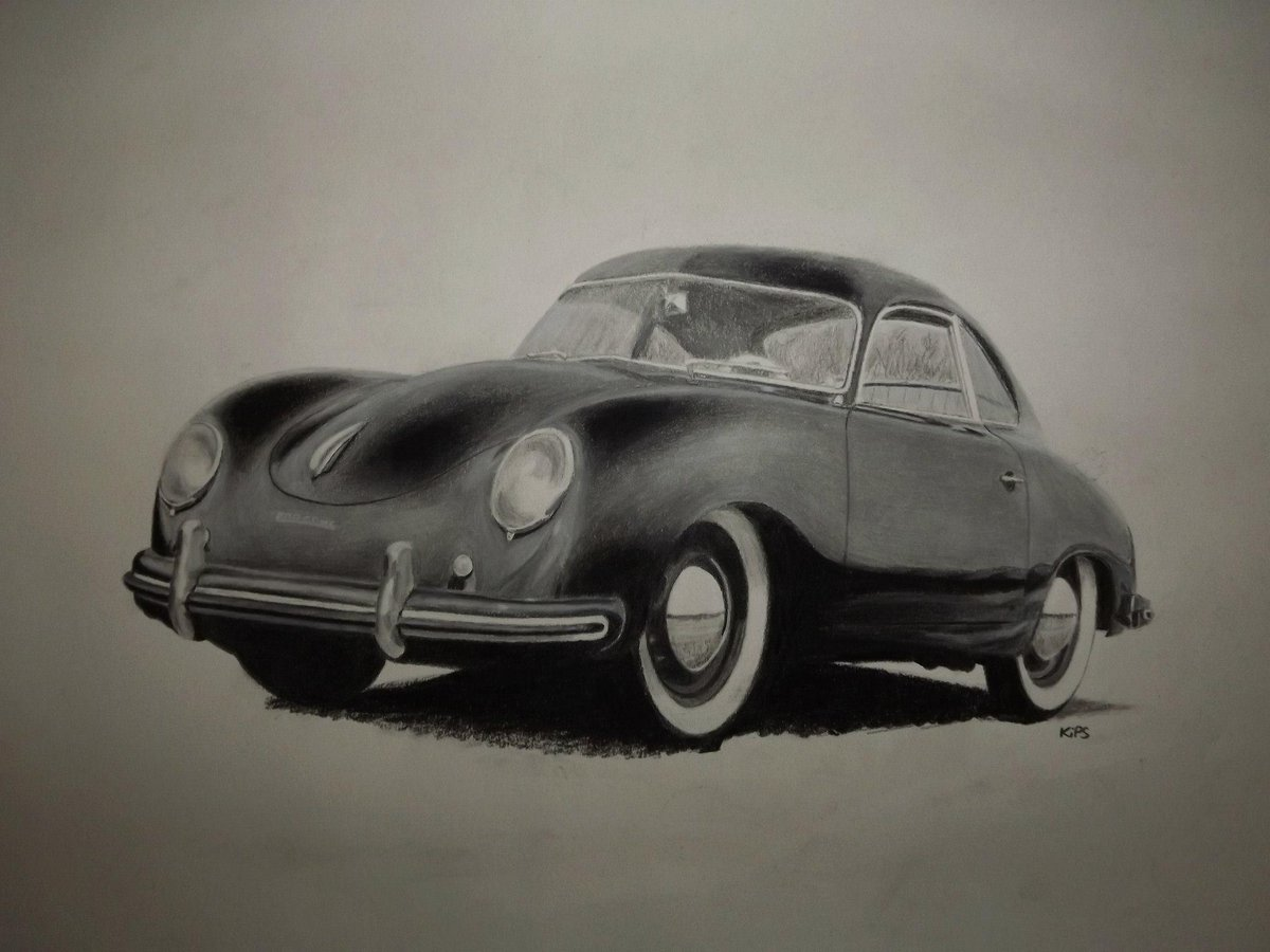 Ian Salmon Artist On Twitter Old Porsche 356 Drawing From Experimenting With Charcoal Art Porsche Artwit Twitart Drawing Http T Co 4jfdisefa2