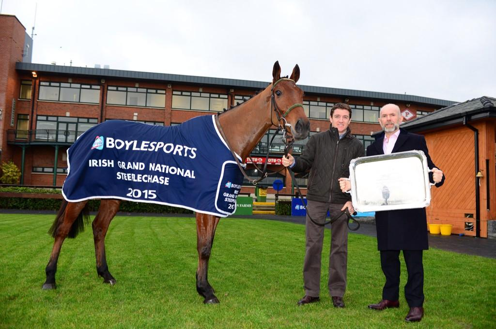 John Boyle and Barry Geraghty @Fairyhouse to announce 2yr extension of Boylesports Irish Grand National http://t.co/6CpO5RQg3J