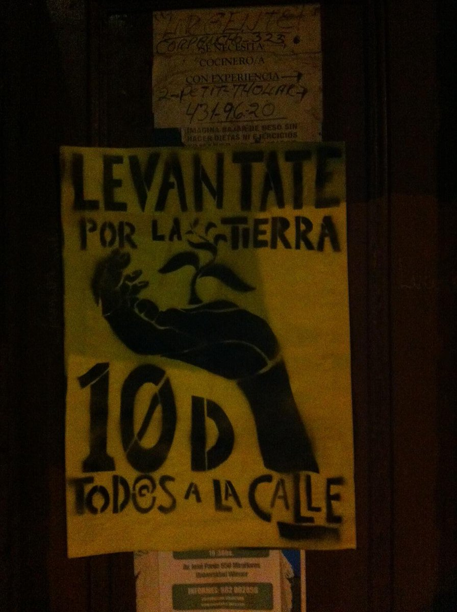 La marcha mundial en defensa de la madre tierra se toma las calles de Lima#yomarcho10d @TierrActiva @TierrActivaPeru http://t.co/0978sVlUtk