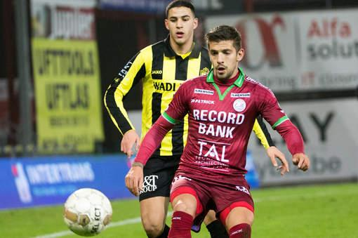 Trajkovski focuses on the ball vs. Lierse
