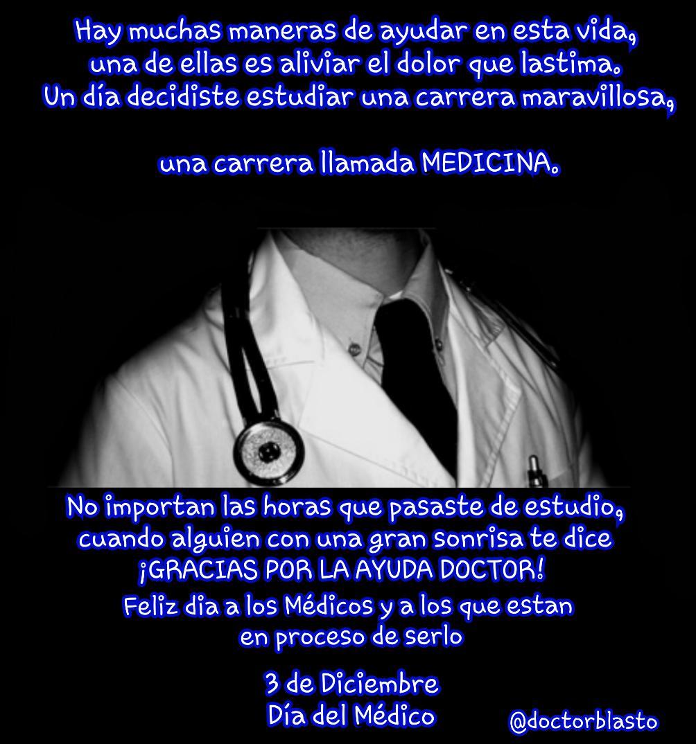 Doctorblasto Ar Twitter Feliz Día Del Médico Httptco
