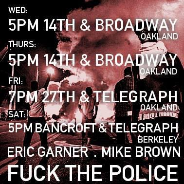 Justice 4 Eric Garner, Justice 4 Mike Brown @ Oscar Grant Plaza | Oakland | California | United States