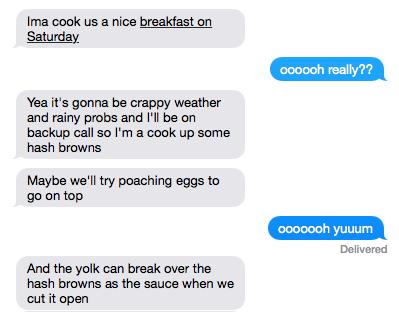 Sext conversation