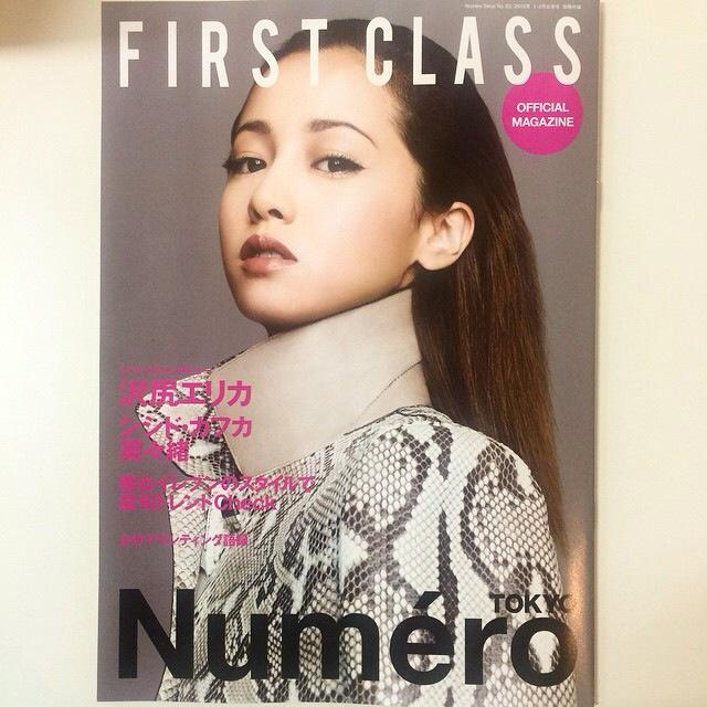 今、発売中のNumeo TOKYOに、リアルmagazine「FIRST CLASS」がついています!カバーは沢尻エリカ、川島シスターズのファッション競演も!チェックしてね♥@first_class_dm @numero tokyo http://t.co/zwmPBMR15I