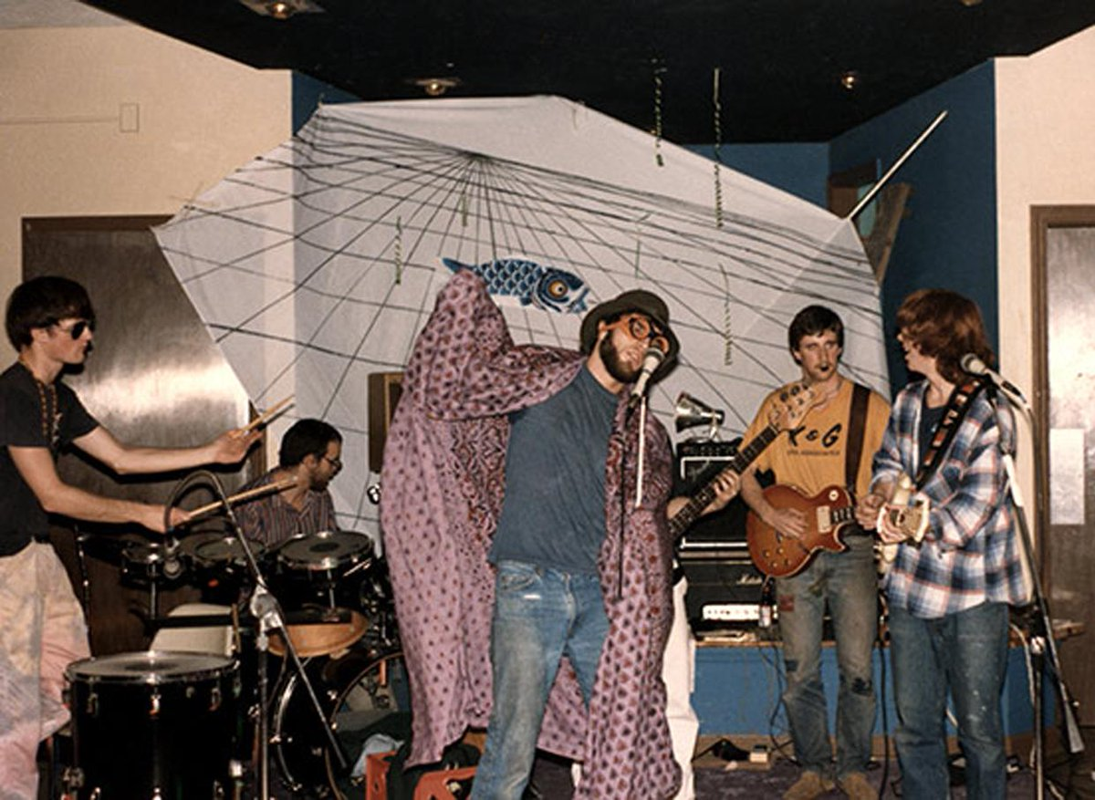 30yrs since #phish played their 1st-ever club gig 12/1/84 (upstairs) @nectarsvt. cover was $1. http://t.co/D9tamsC5aB