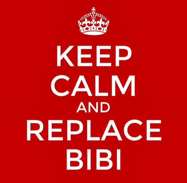 KEEP CALM AND REPLACE BIBI (@netanyahu) http://t.co/ol11Mq5GuQ