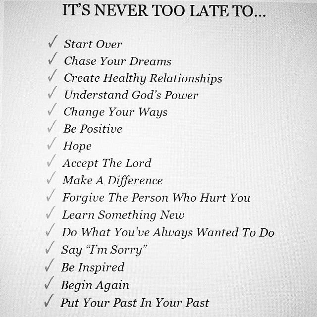 It's never too late to...... http://t.co/ZDQ24EQIuY
