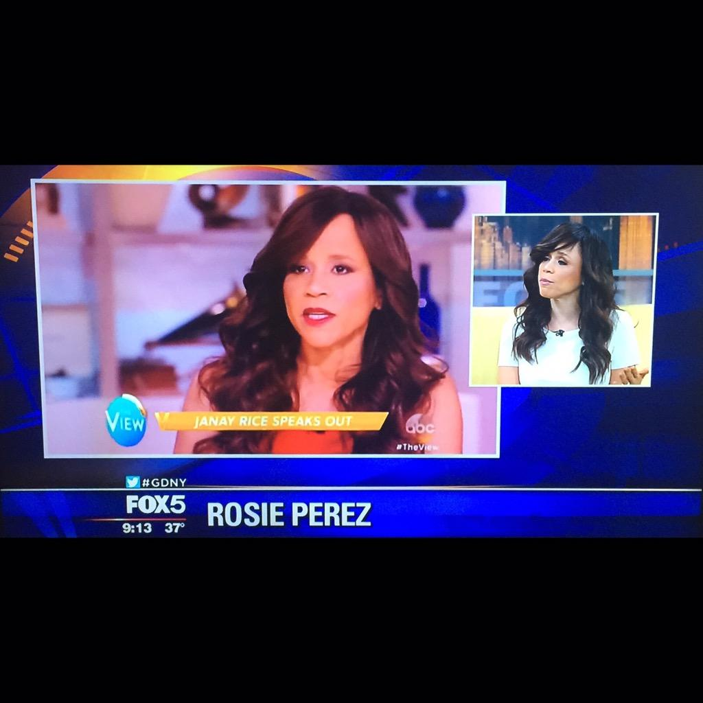 Heres my #Boricua Actress   @rosieperezbklyn on #GoodDayNY @FoxNews talking about many gr8 positive moves w/ PineSol! http://t.co/5CHSQOR3aW