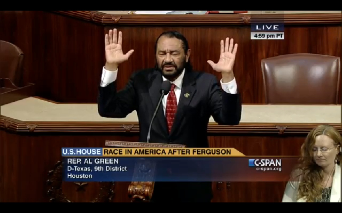 Megyb Kelly owns and destroys racist Rep.  Al Green VIDEO