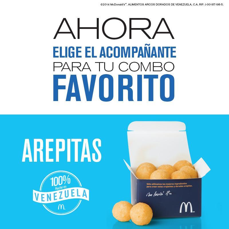 McDonald's da Venezuela está sem batatas fritas