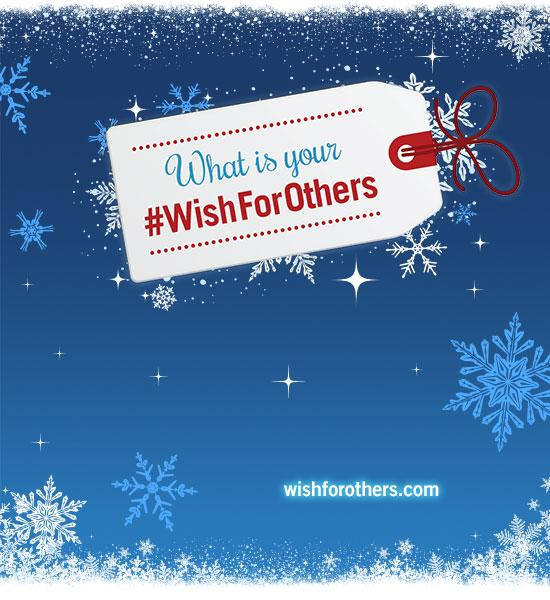 Have a #WishForOthers this Giving Tuesday? What would it be & for whom? Tell us for a chance to help bring it to life http://t.co/h4MfKaN7F3