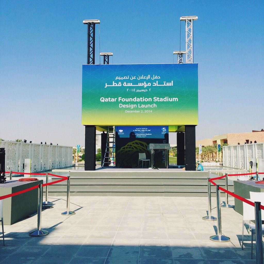 Thumbnail for Launch of Qatar Foundation stadium