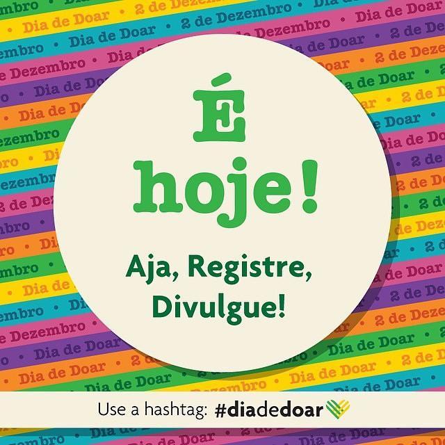 Gente que tá frenética, hoje: eu. Hoje é @diadedoar, #DiadeDoar, #DiadeDoar, #DiadeDoar! *-* #GivingTuesday #Rotary http://t.co/D3o4i6kmtH