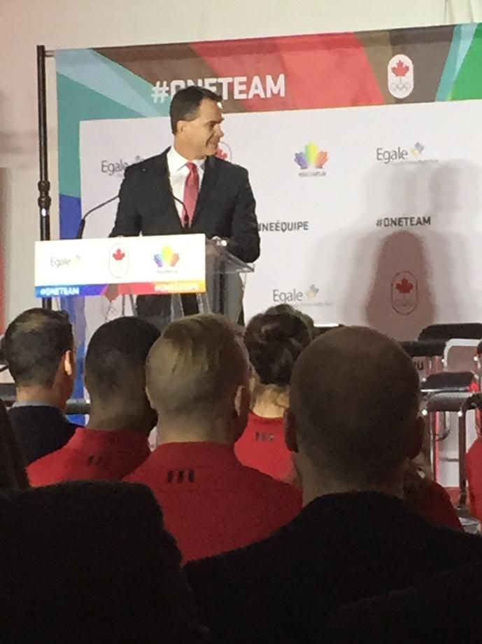 """Egale Canada on Twitter: """"CEO of the Canadian Olympic Committee ..."""