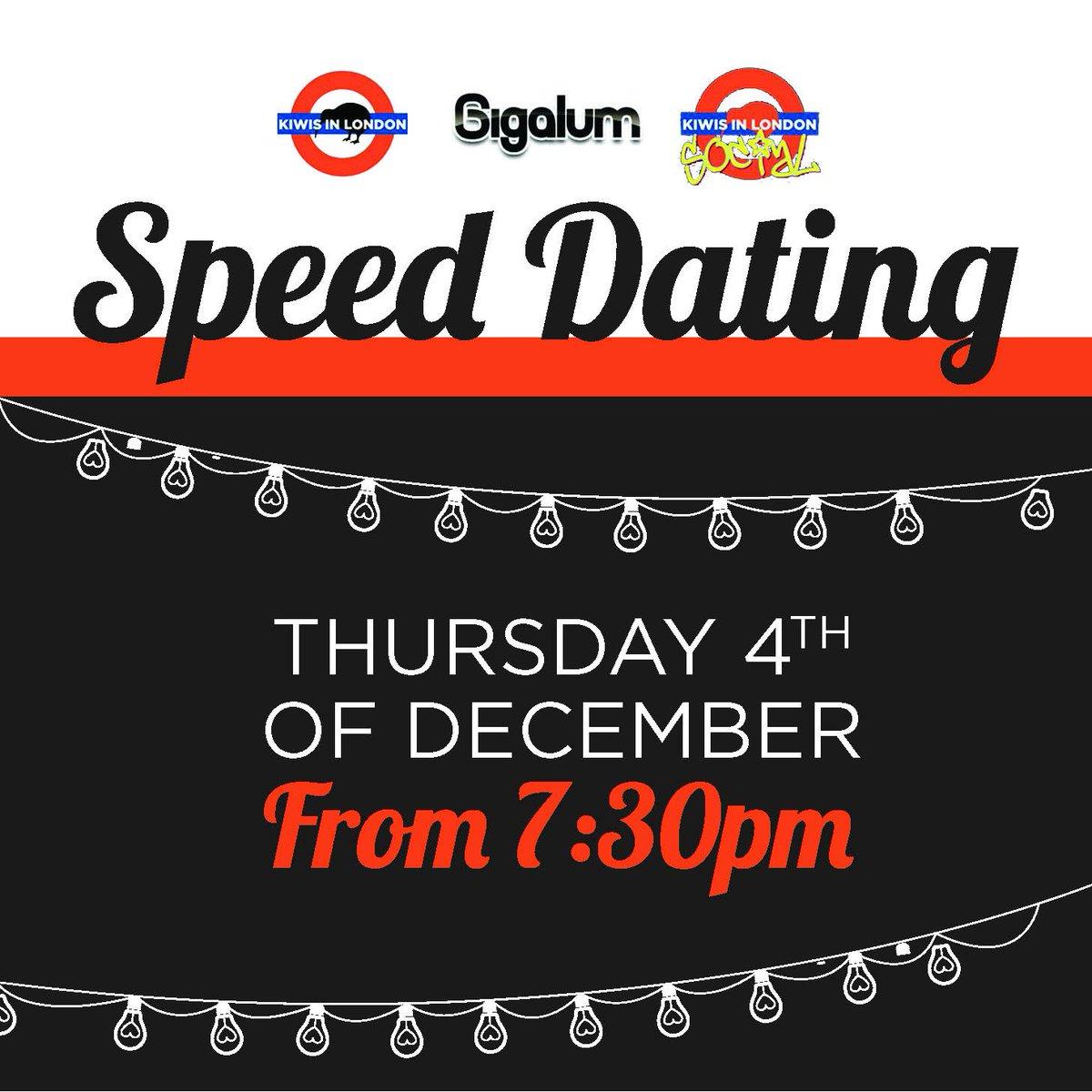Gigalum Clapham speed dating