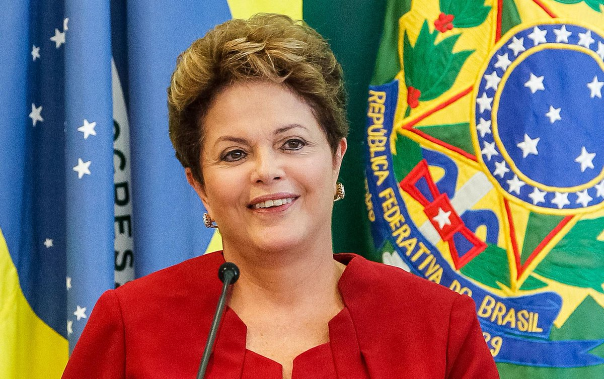 Dilma a famosa do Facebook.