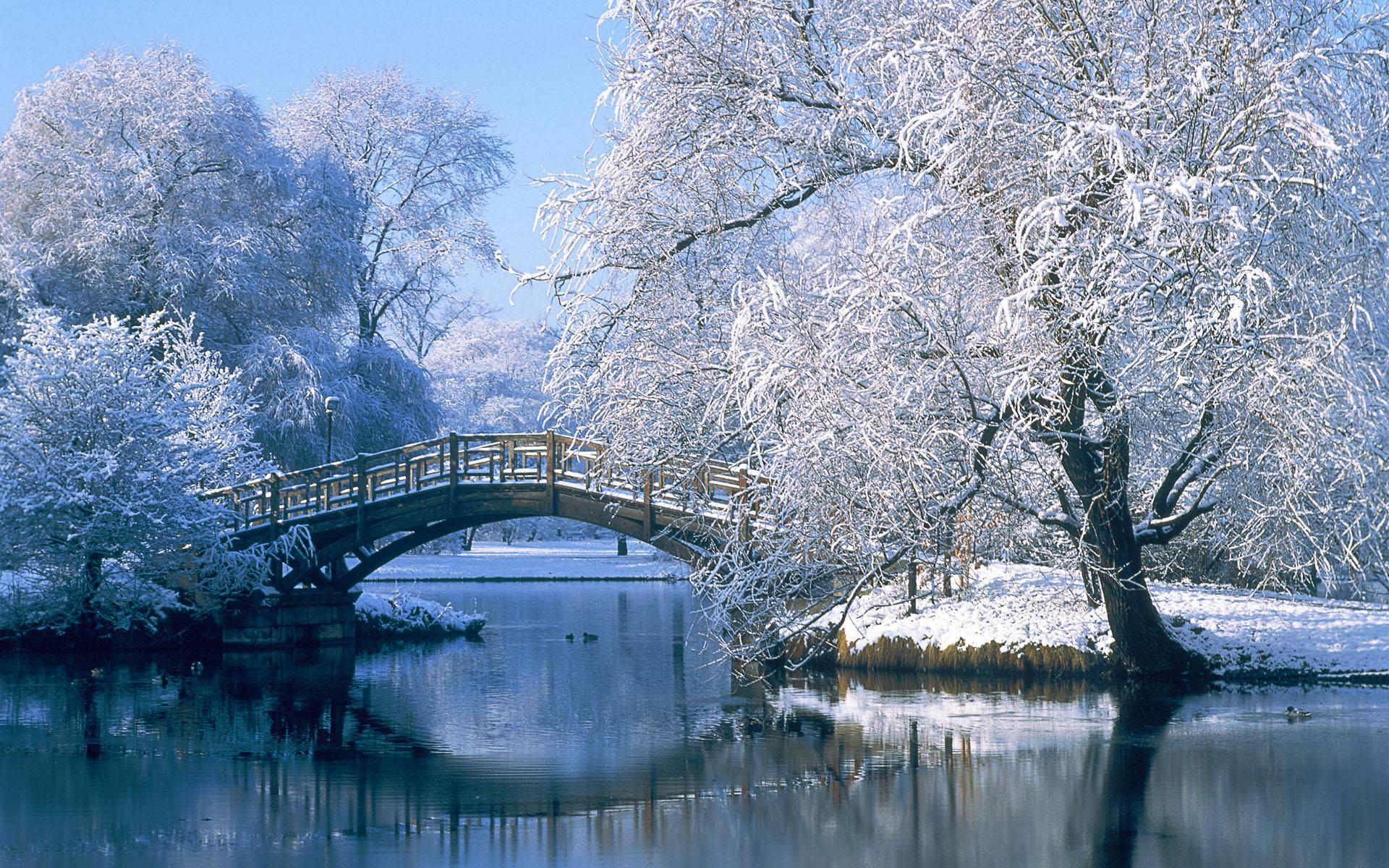 Открытка, красивые картинки с пейзажами зимы