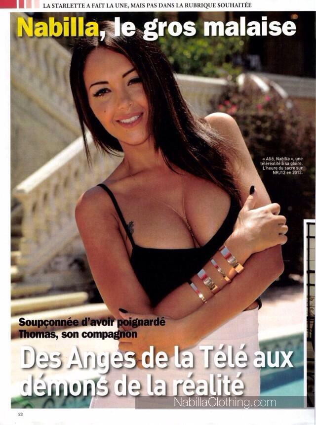nabilla on twitter photo nabilla dans le magazine jour de france de cette semaine http. Black Bedroom Furniture Sets. Home Design Ideas