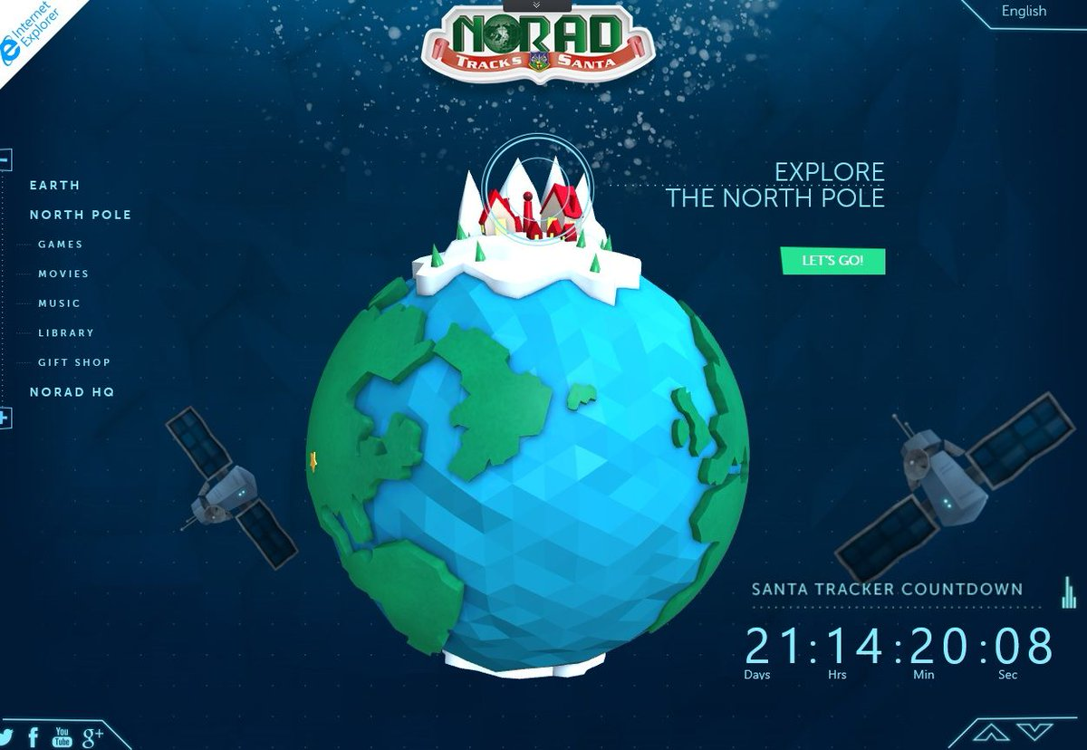 Il Viaggio di Babbo Natale con Microsoft e NORAD