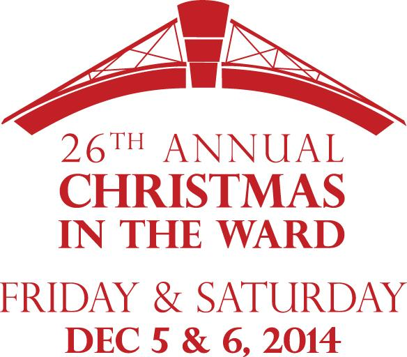 This weekend is Christmas in the Ward! Get in the holiday spirit with reindeer & more! Info at http://t.co/bdFOjxF3aw http://t.co/MPkqIjvokg