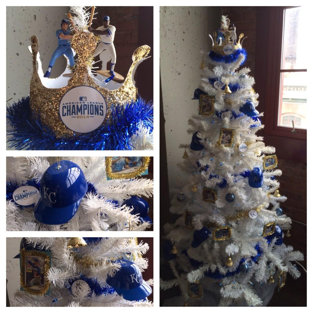 1 reply 1 retweet 6 likes - Royals Christmas Ornament