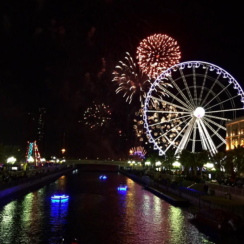 Imageresult for Al Qasba fireworks