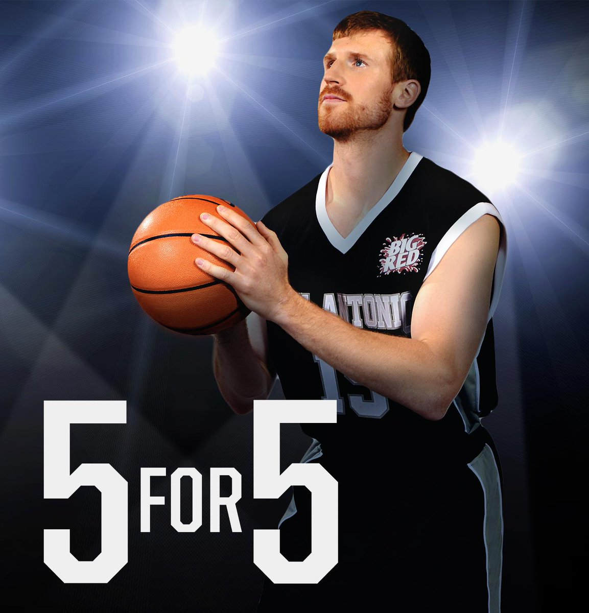 Bonner @RedMamba_15 shot 5 for 5 last nite, same day that he was announced as a Big Red ambassador! Talk about lucky! http://t.co/7BsAWiRykh