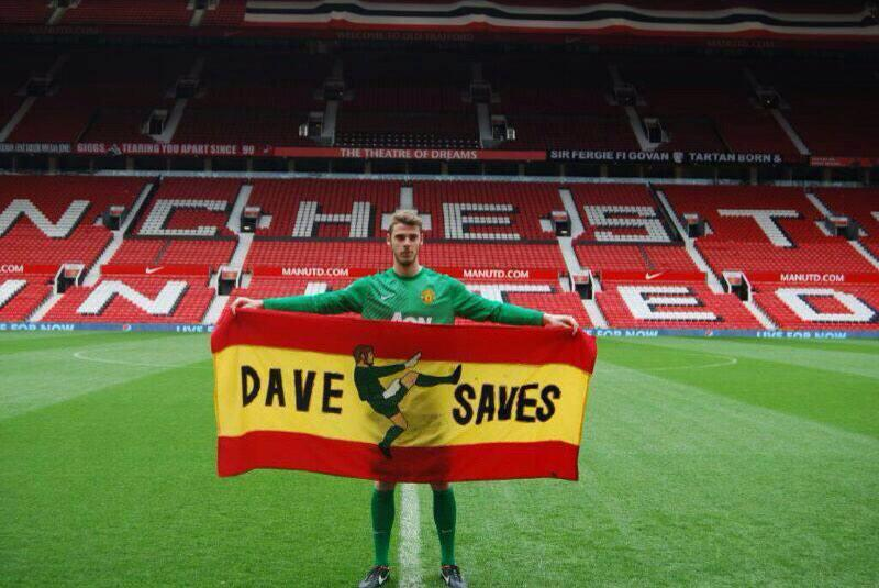 The 8th Wonder of the World - The Great Wall of David De Gea! http://t.co/gDOxdDZtE2