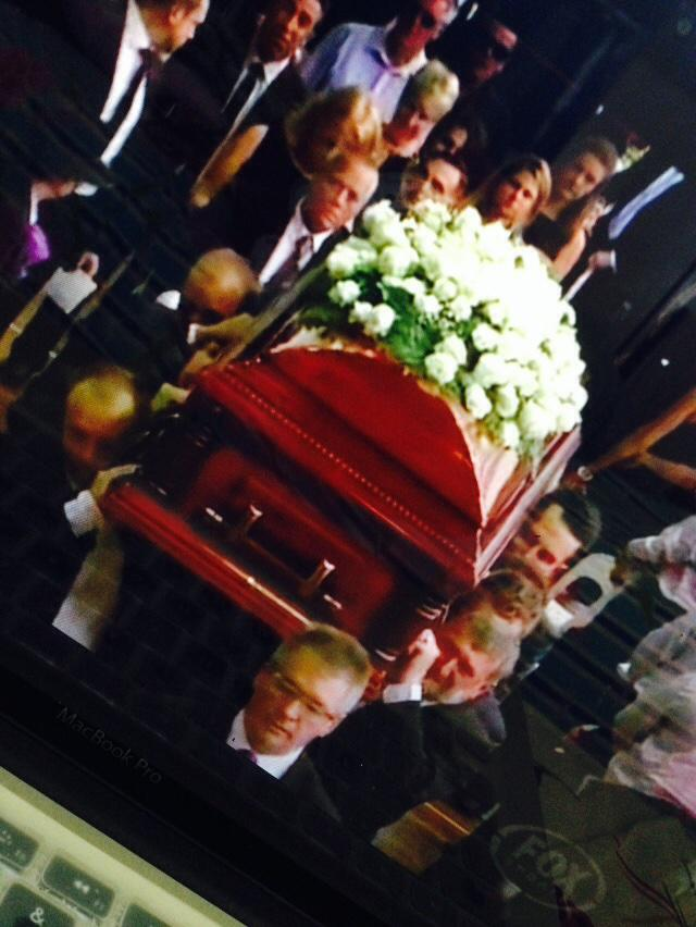 Painful here watching Phillip Hughes's fathers face as he carries his son out.. http://t.co/AJjENsxvce